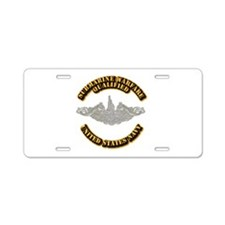 Army - DS - 1st AR Div Aluminum License Plate