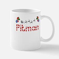Pitman, Christmas Mug