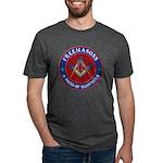 Freemason Brothers Mens Tri-blend T-Shirt