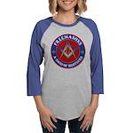 Freemason Brothers Womens Baseball Tee