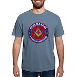 Freemason Brothers Mens Comfort Colors Shirt