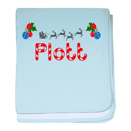 Plott, Christmas baby blanket