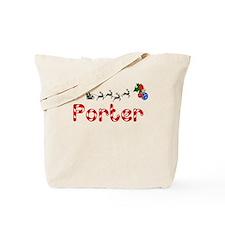 Porter, Christmas Tote Bag