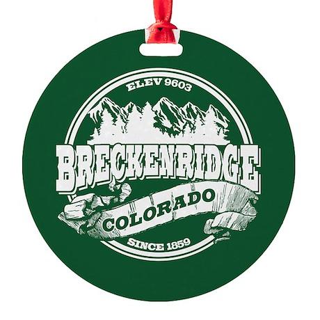 Breckenridge Old Circle Round Ornament