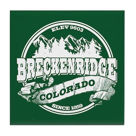 Breckenridge Old Circle Tile Coaster