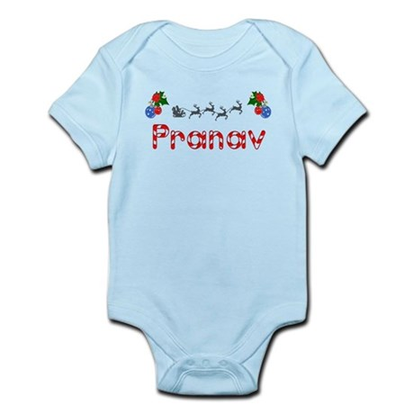 Pranav, Christmas Infant Bodysuit