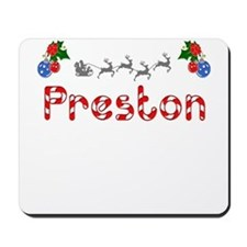 Preston, Christmas Mousepad