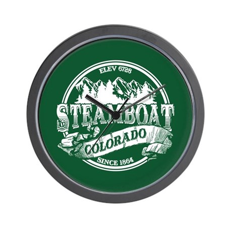 Steamboat Old Circle Wall Clock