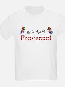 Provencal, Christmas T-Shirt