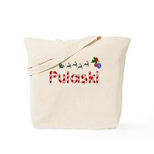 Pulaski, Christmas Tote Bag