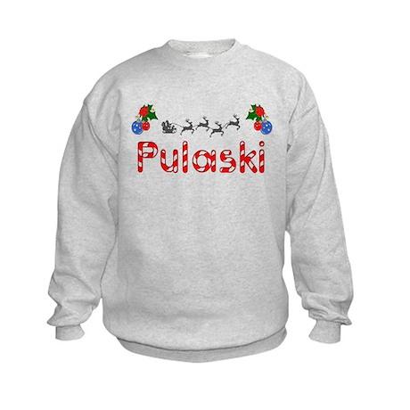 Pulaski, Christmas Kids Sweatshirt