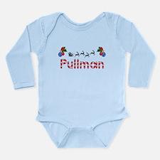 Pullman, Christmas Long Sleeve Infant Bodysuit