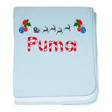 Puma, Christmas baby blanket