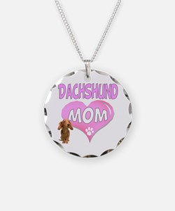 Dachshund Mom 2 Necklace
