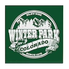 Winter Park Old Circle Tile Coaster