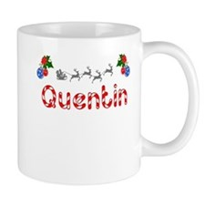 Quentin, Christmas Small Mug