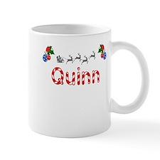 Quinn, Christmas Small Mug