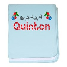 Quinton, Christmas baby blanket