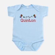 Quinton, Christmas Infant Bodysuit