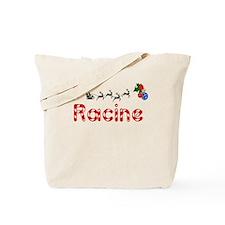 Racine, Christmas Tote Bag