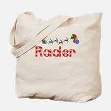 Rader, Christmas Tote Bag