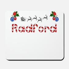 Radford, Christmas Mousepad