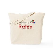 Rahm, Christmas Tote Bag