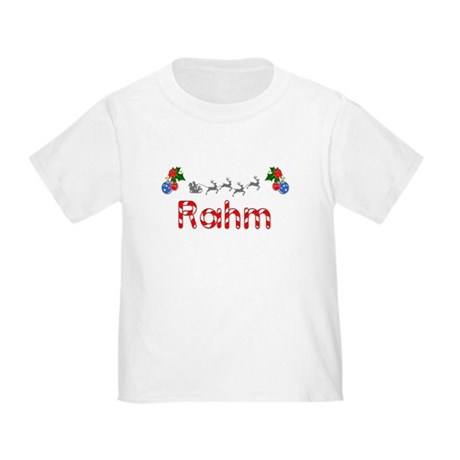 Rahm, Christmas Toddler T-Shirt