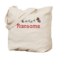 Ransome, Christmas Tote Bag
