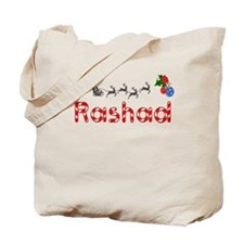 Rashad, Christmas Tote Bag