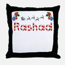 Rashad, Christmas Throw Pillow