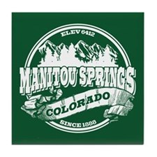 Manitou Springs Old Circle Tile Coaster