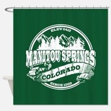 Manitou Springs Old Circle Shower Curtain