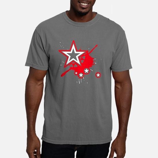 starheartsplash2.png Mens Comfort Colors Shirt