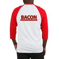 """Powered by BACON"" Baseball Jersey"