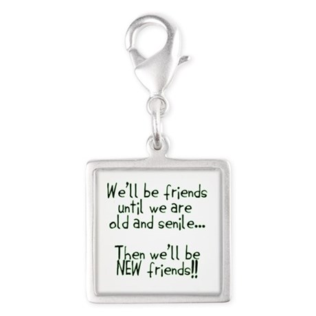 Well be friends png.png Silver Square Charm