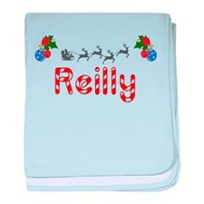 Reilly, Christmas baby blanket