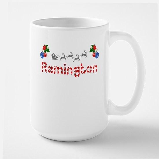 Remington, Christmas Large Mug
