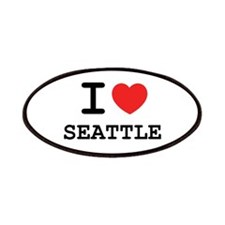 I LOVE SEATTLE Patches