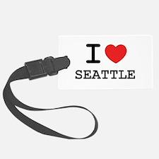 I LOVE SEATTLE Luggage Tag