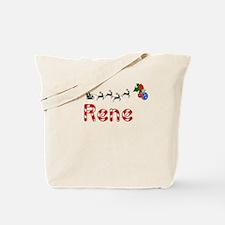 Rene, Christmas Tote Bag