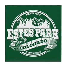 Estes Park Old Circle Tile Coaster