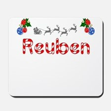 Reuben, Christmas Mousepad