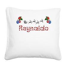 Reynaldo, Christmas Square Canvas Pillow