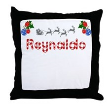 Reynaldo, Christmas Throw Pillow