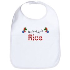 Rice, Christmas Bib