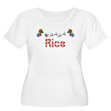 Rice, Christmas T-Shirt