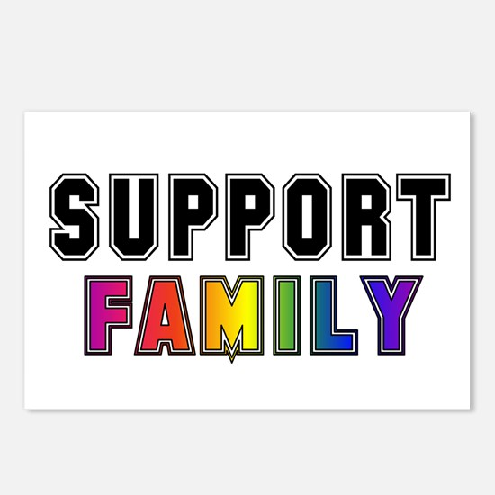 Support Family Postcards (Package of 8)