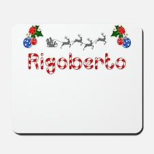 Rigoberto, Christmas Mousepad