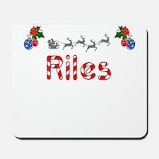 Riles, Christmas Mousepad